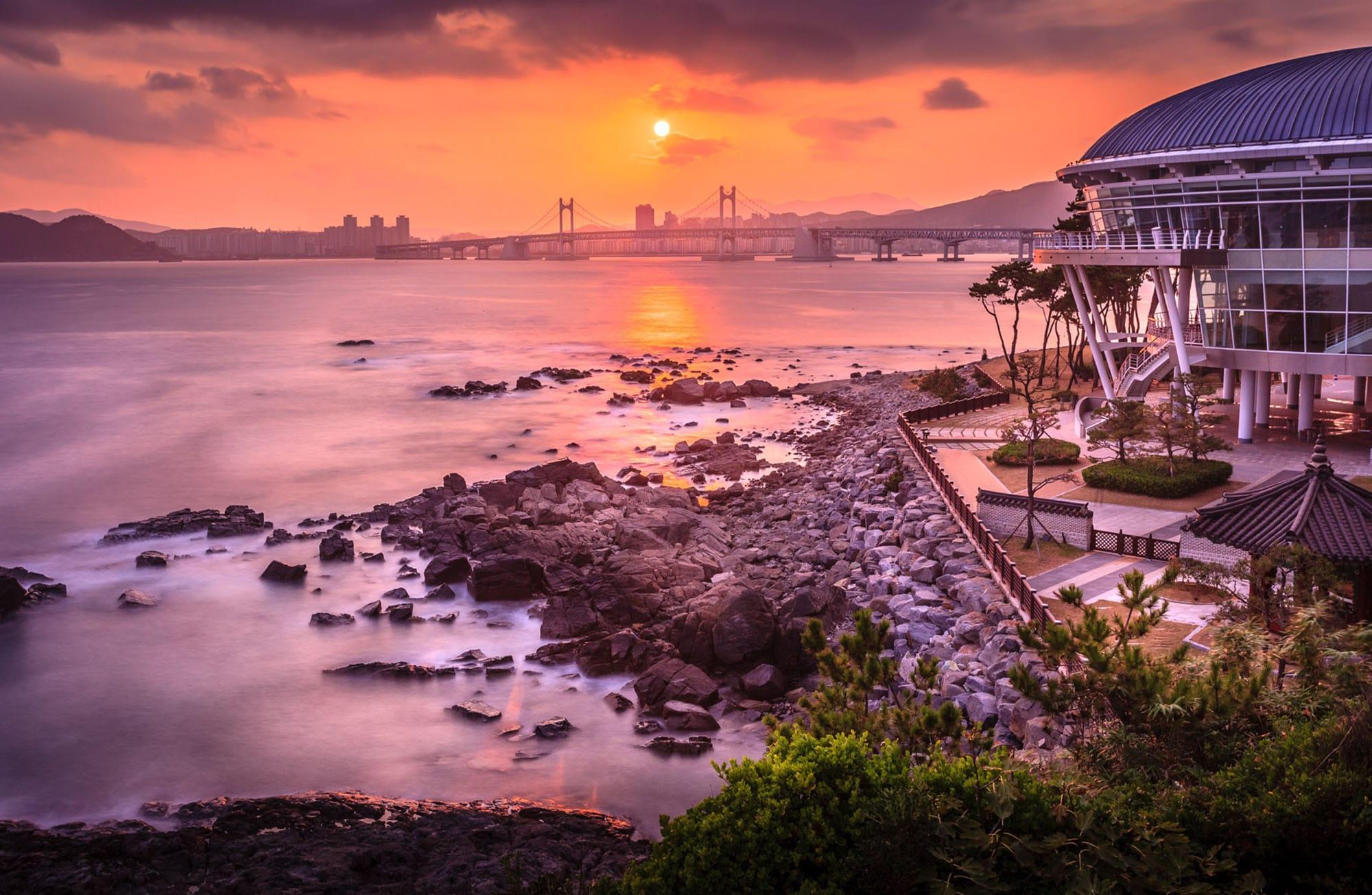 Busan-Südkorea-Head